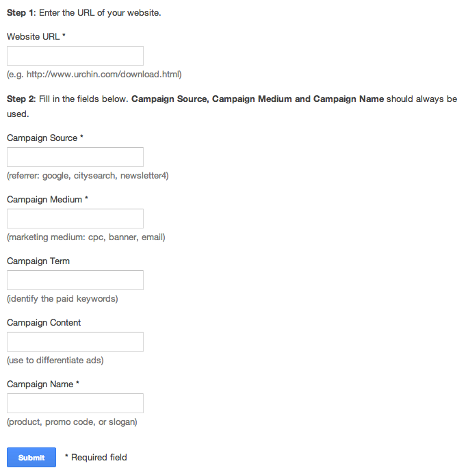 How to Track When Visitors Click Your Links: Google URL Builder ...