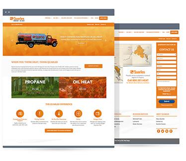Think Heat Website Design