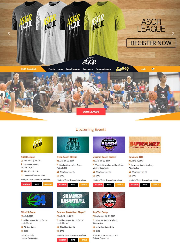 ASGR Basketball Homepage